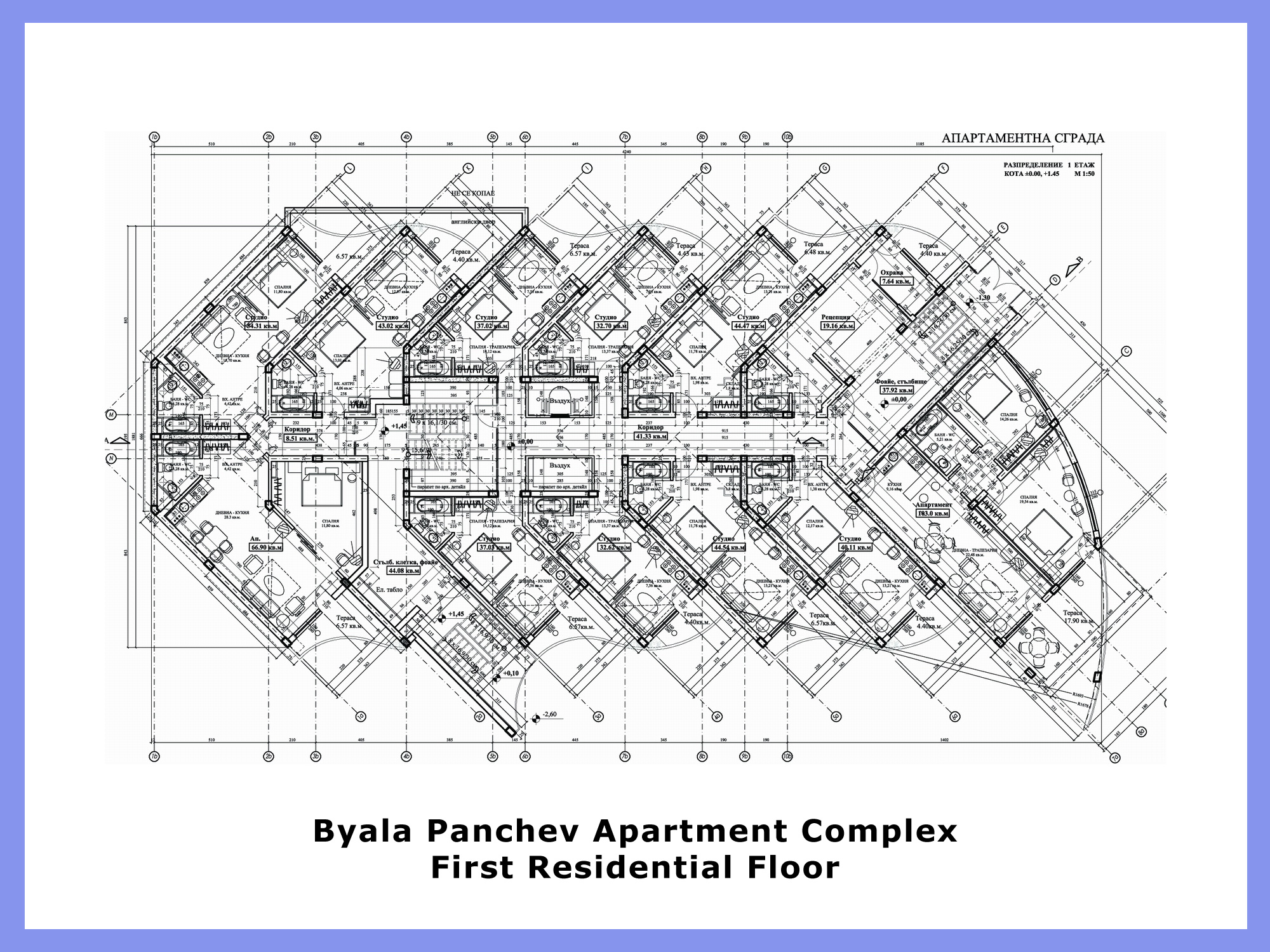 28 apartment complex floor plans 171 architectural for Apartment complex building plans