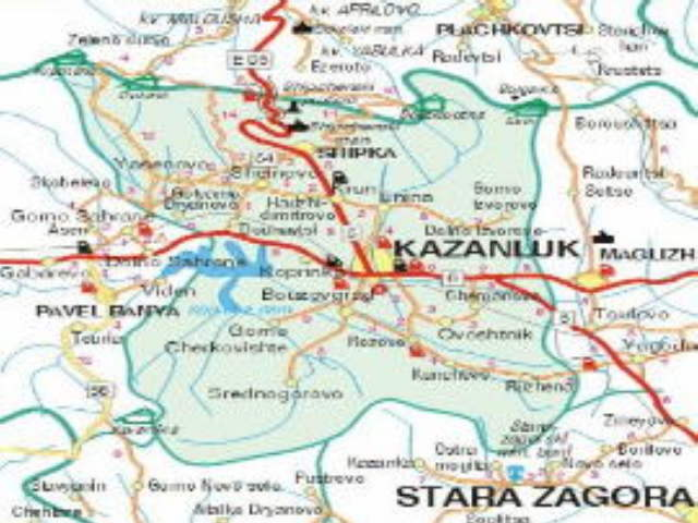 Kazanlak - The Valley of Roses and Thracian Kings - Tourist Information — Luximmo.com